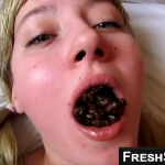Amazing Blonde Girl Eating Shit From Her Boyfriends Ass On Live Scat Cam