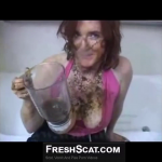Scat Wife Makes A Shit Smoothie And Smears Shit And Pukes During Sex With Husband