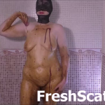 Sexy Girl Smears Shit All Over Herself And Dumps Period Blood All Over Herself On Cam