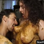 Real Scat Couple Enjoys Shit Play On Live Webcam Together