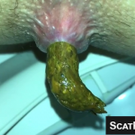 Girl With Juicy Puffy Asshole Takes A Nice Shit On Webcam For Us